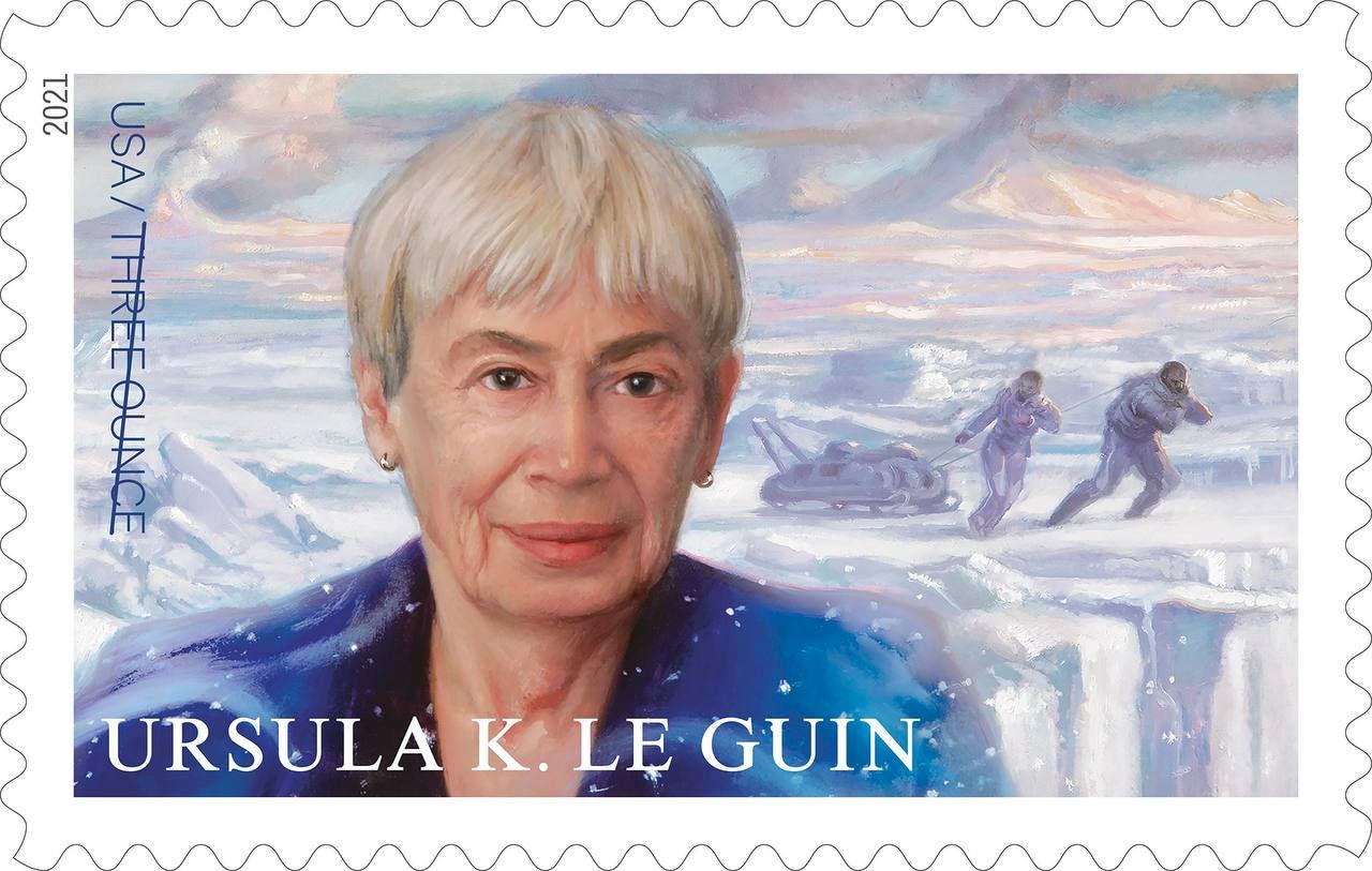 В США выйдет почтовая марка, посвящённая Урсуле Ле Гуин