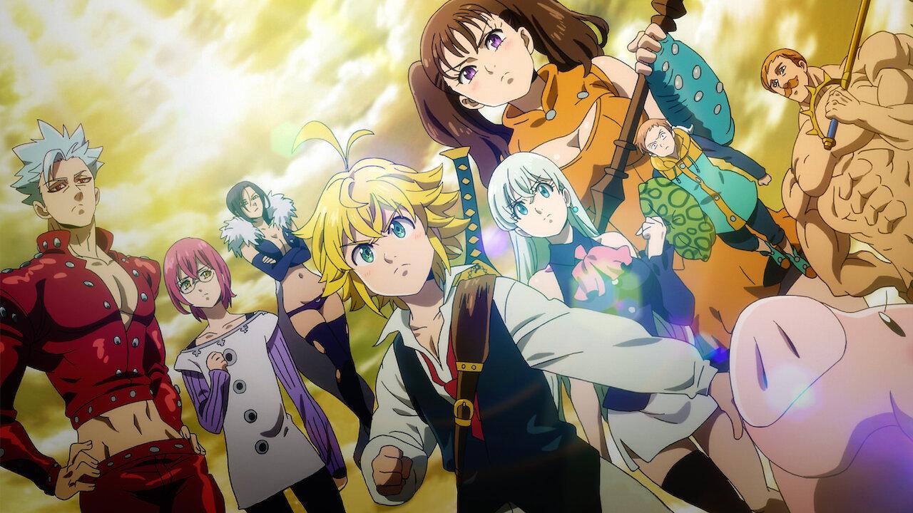 Летом выйдет новый аниме-фильм по «Семи смертным грехам»