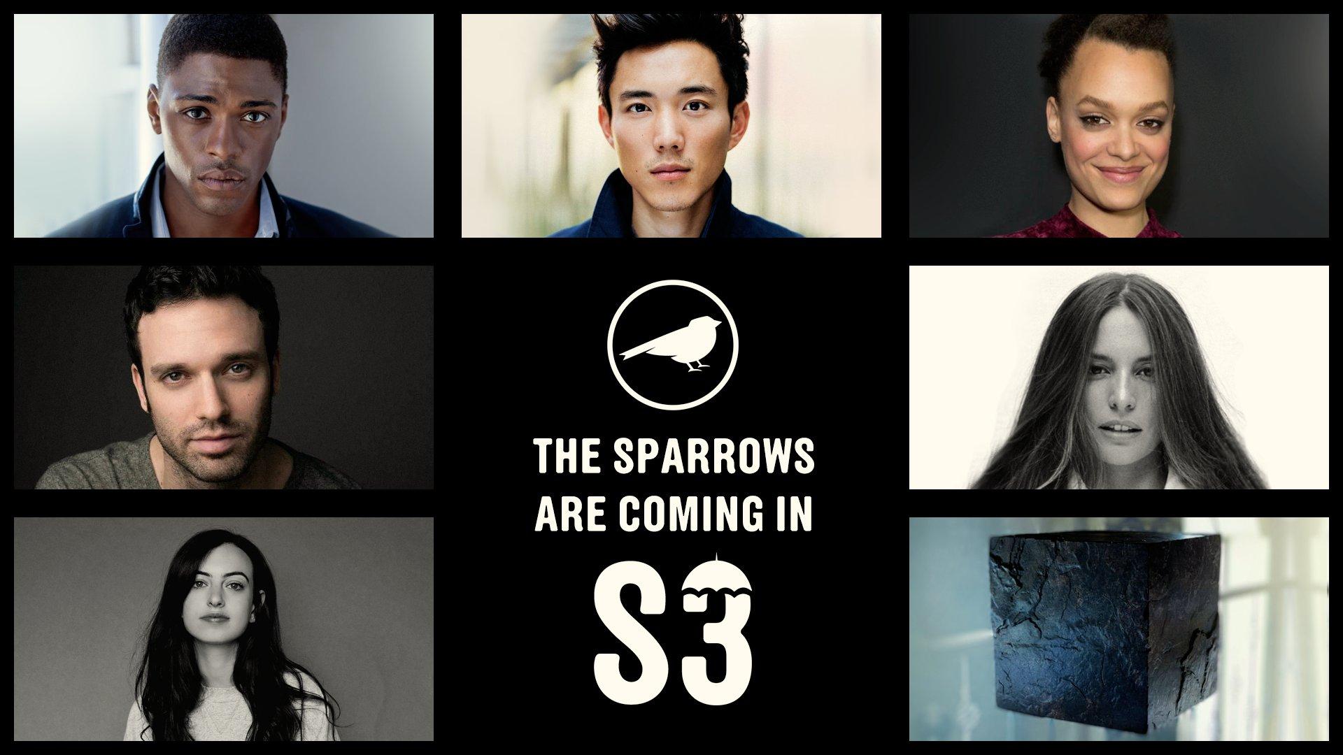Знакомьтесь, это супергерои из«Академии Спэрроу» — антагонисты третьего сезона «Академии Амбреллы» 7
