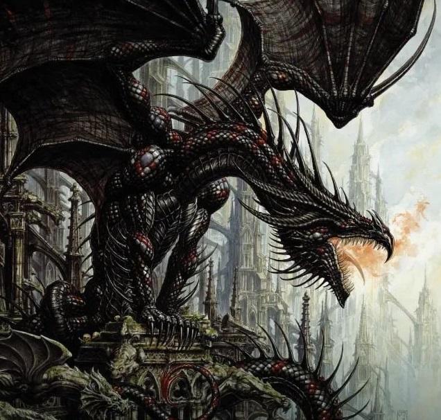 Что почитать: энциклопедия «Мир драконов» и фэнтези «Воин доброй удачи»