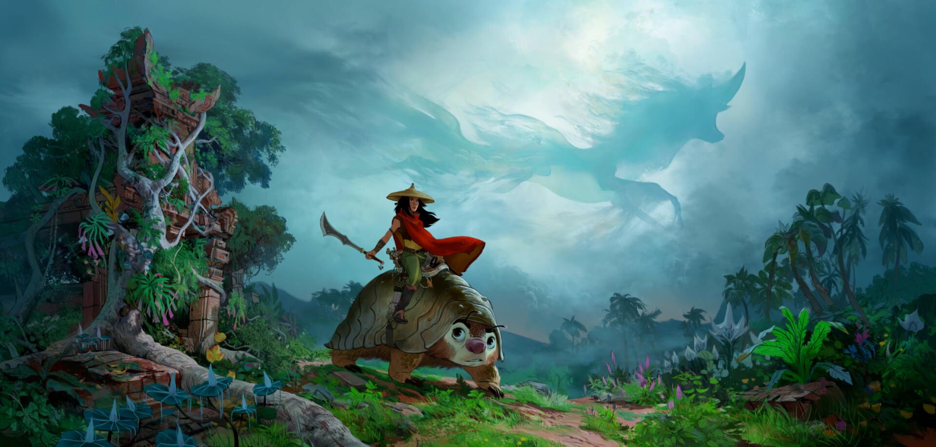 «Мы обречены» — трейлер мультфильма «Райя и последний дракон»