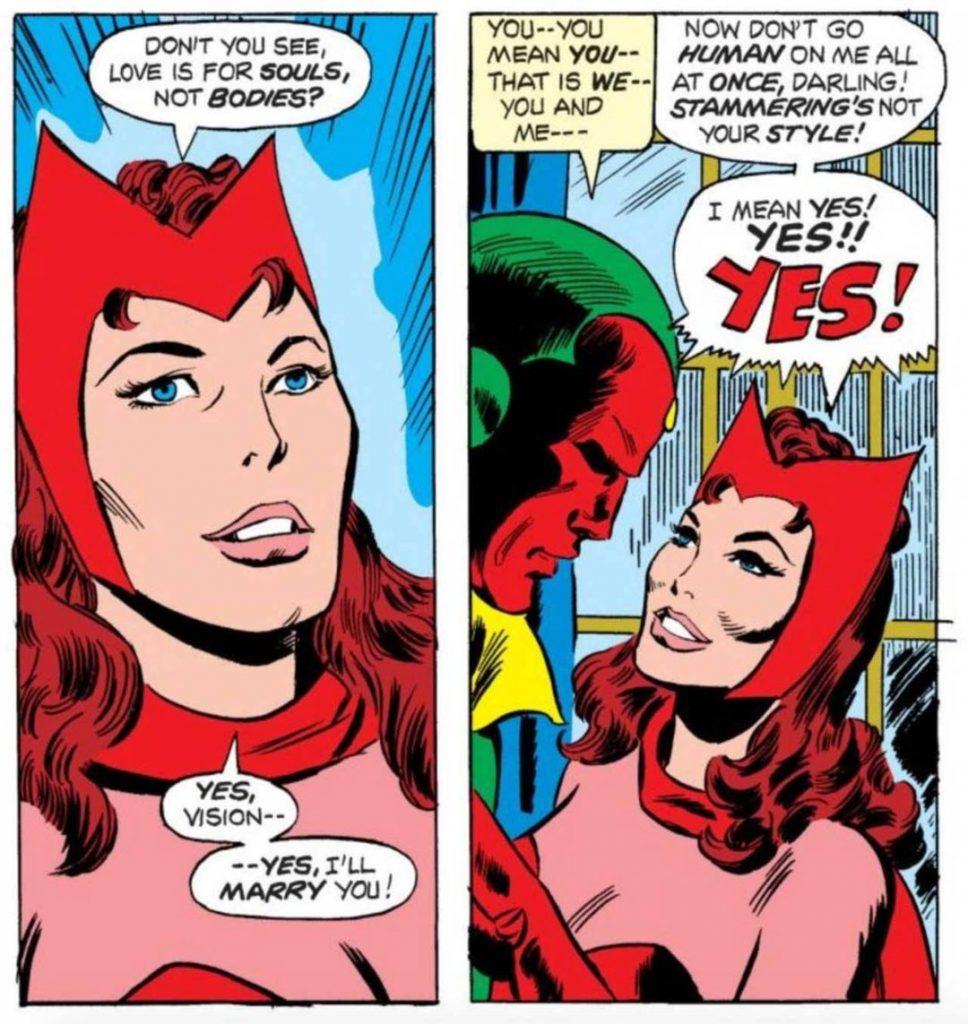 Алая Ведьма из «ВандаВижн» в комиксах: трагедия сильнейшего Мстителя 3