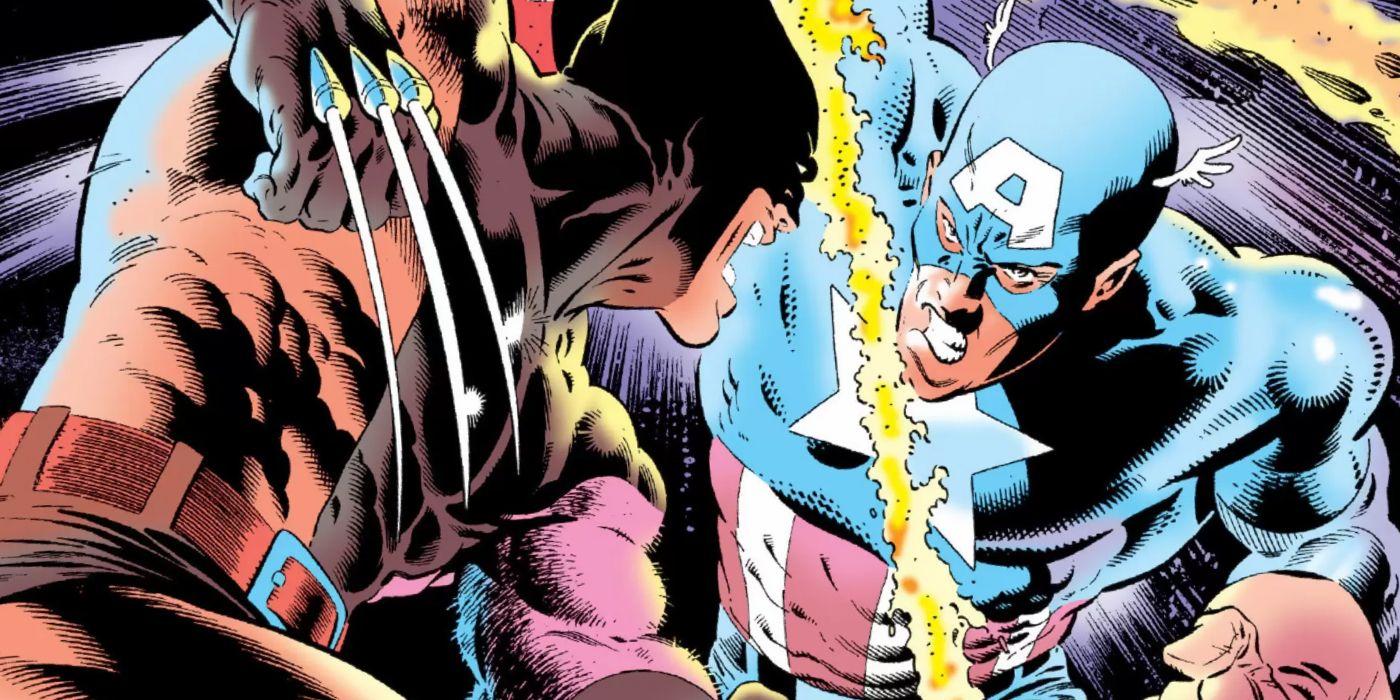 Слух: Капитан Америка сразится с Росомахой в одном из фильмов Marvel