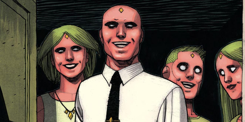 Читаем комикс «Вижн. Полное Собрание. Золотая Коллекция»