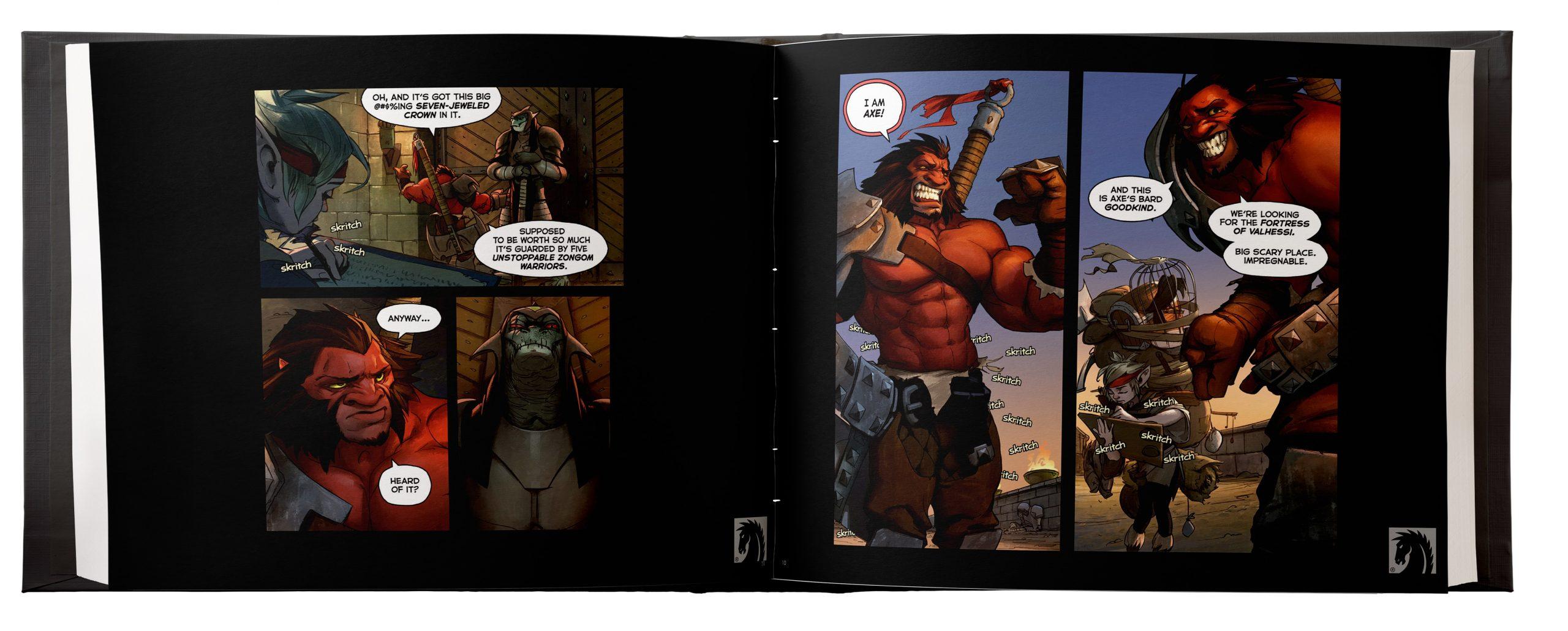 На CrowdRepublic стартовал сбор средств наиздание комикса Dota 2. The Comic Collection 1