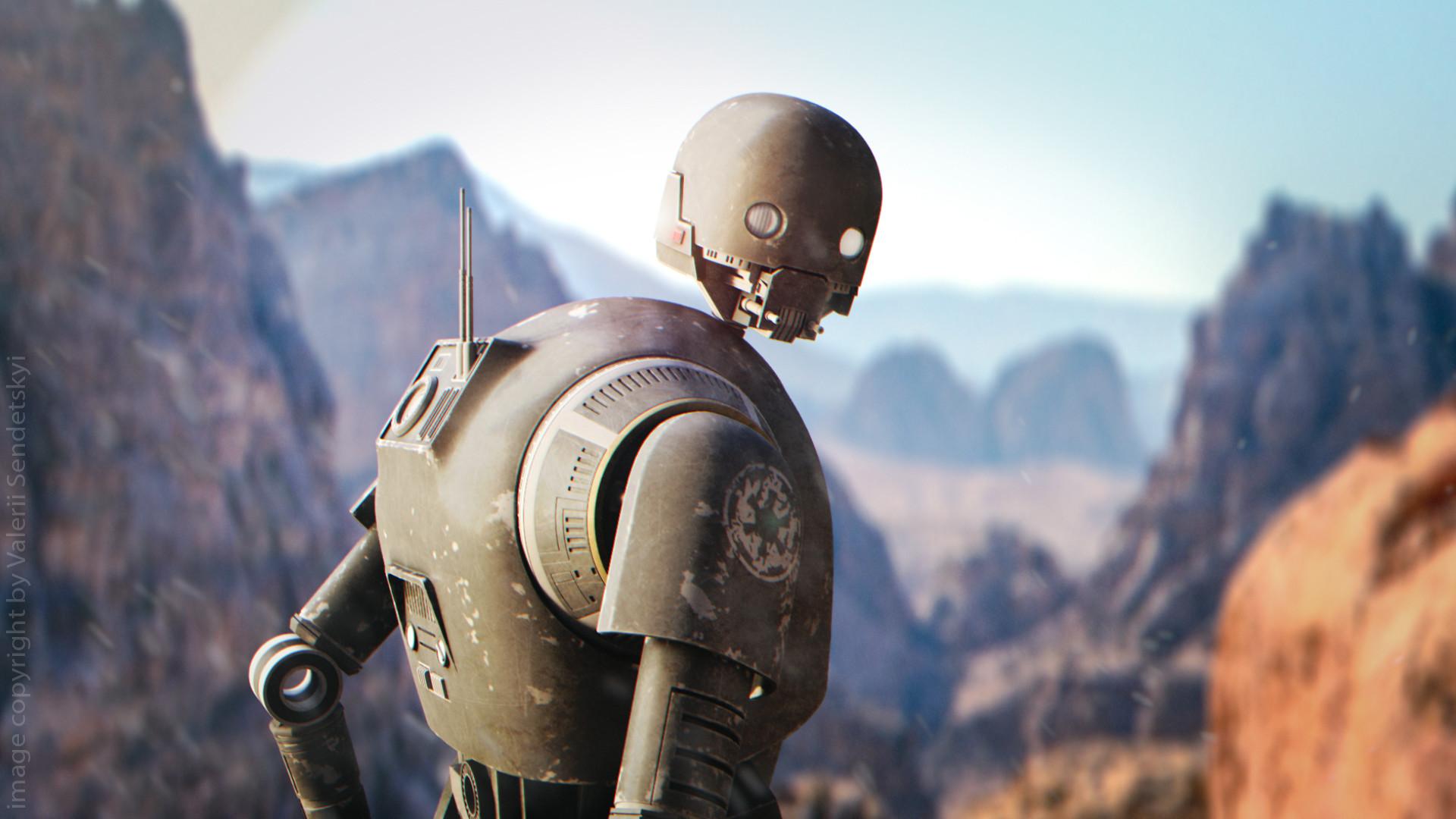 Алан Тьюдик непоявится вроли дроида K-2SO всериале «Андор» — пока что