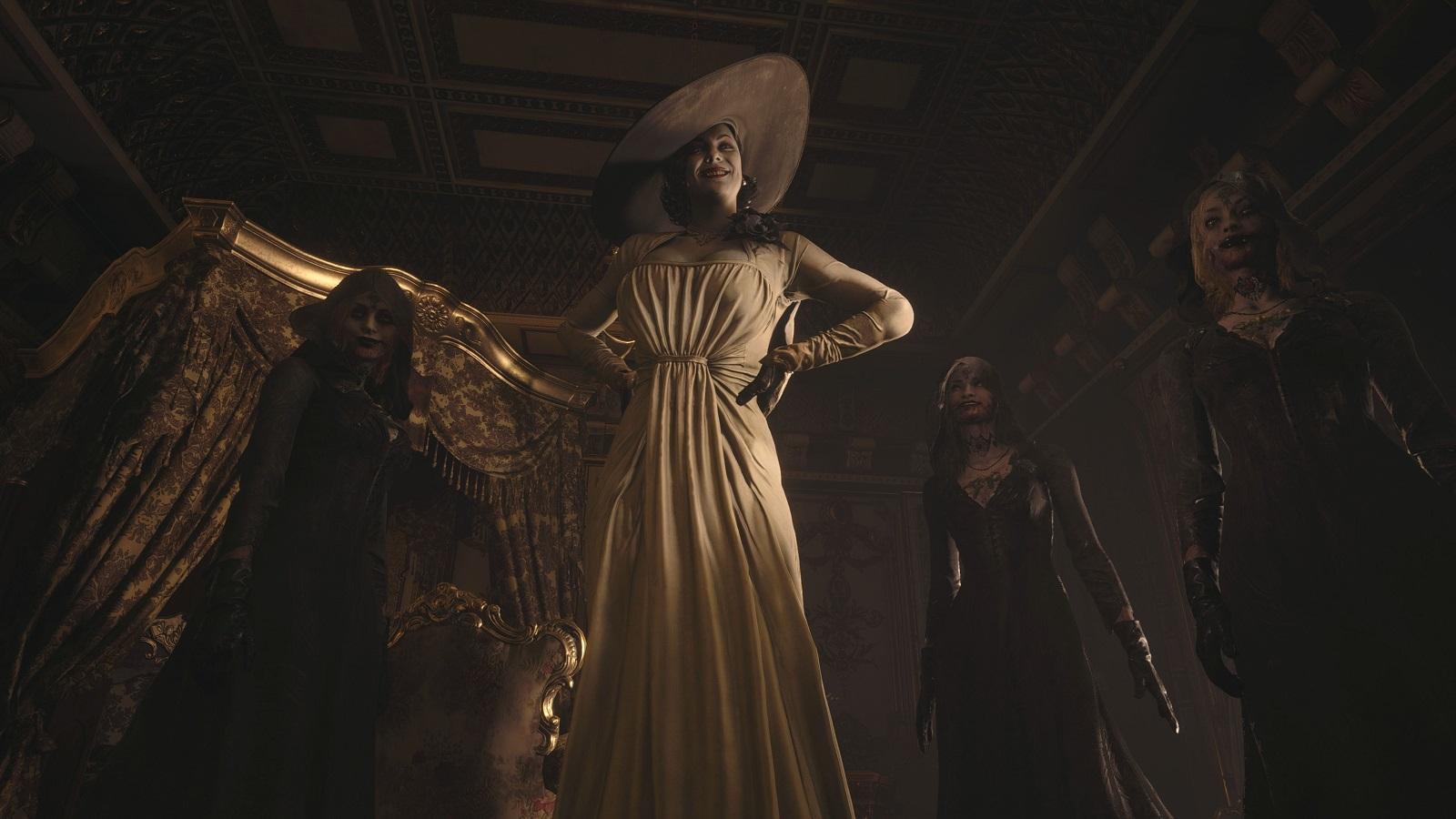 Образ Леди Димитреску из Resident Evil: Village вдохновлен Мортишей Аддамс