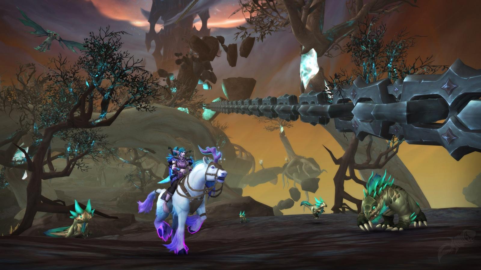 Утечка: детали WoW: The Burning Crusade и обновления для Shadowlands 2