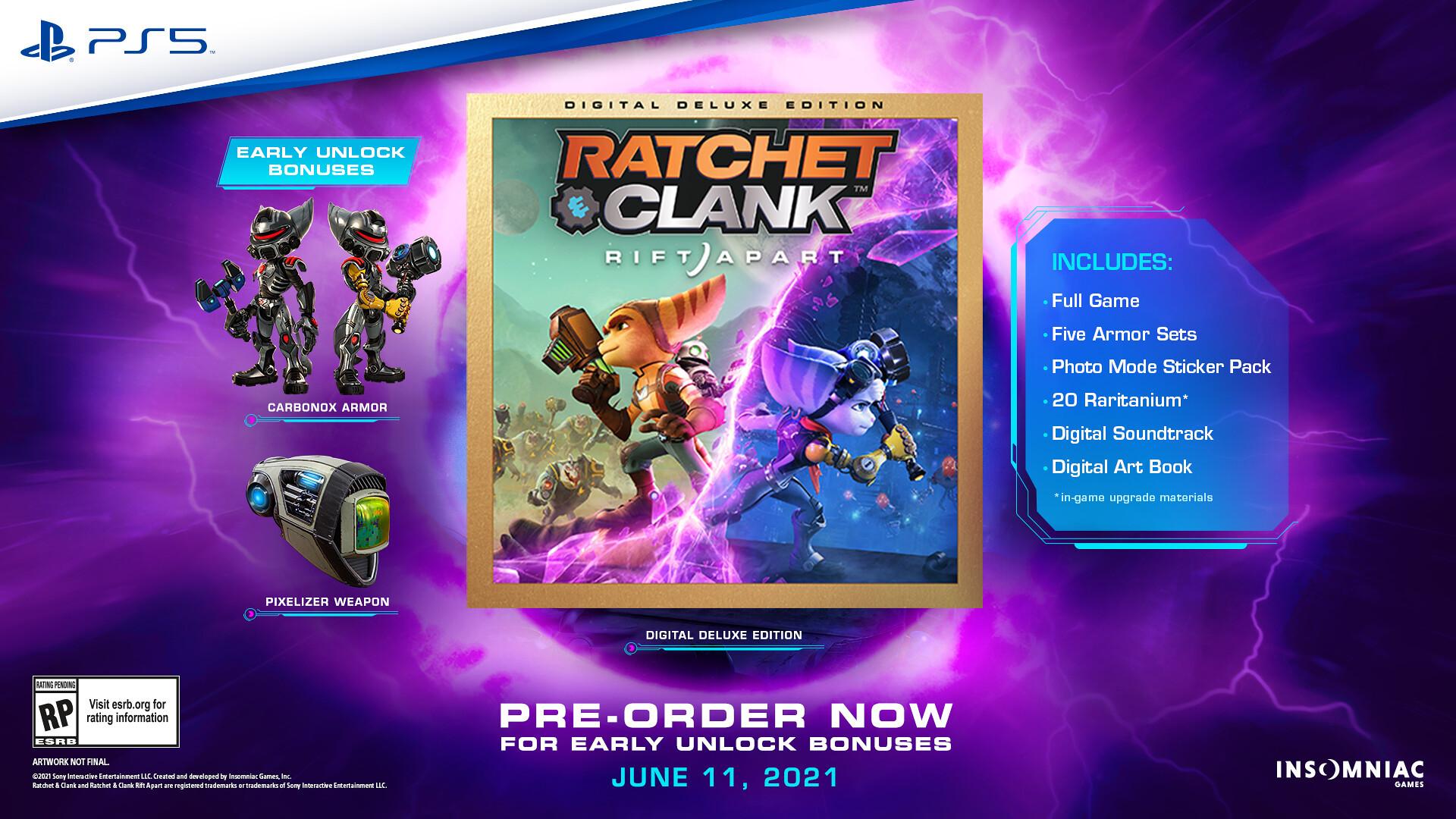 Новый трейлер Ratchet & Clank: Rift Apart. У игры появилась дата релиза