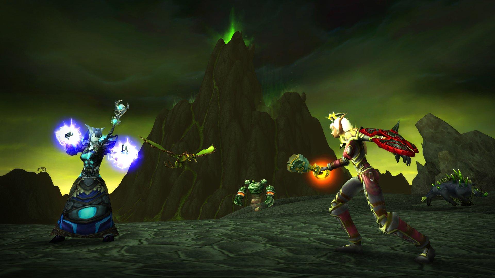 Утечка: детали WoW: The Burning Crusade и обновления для Shadowlands 1