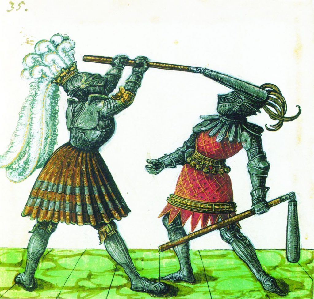 Моргенштерн, боевой цеп. История страшного оружия 17