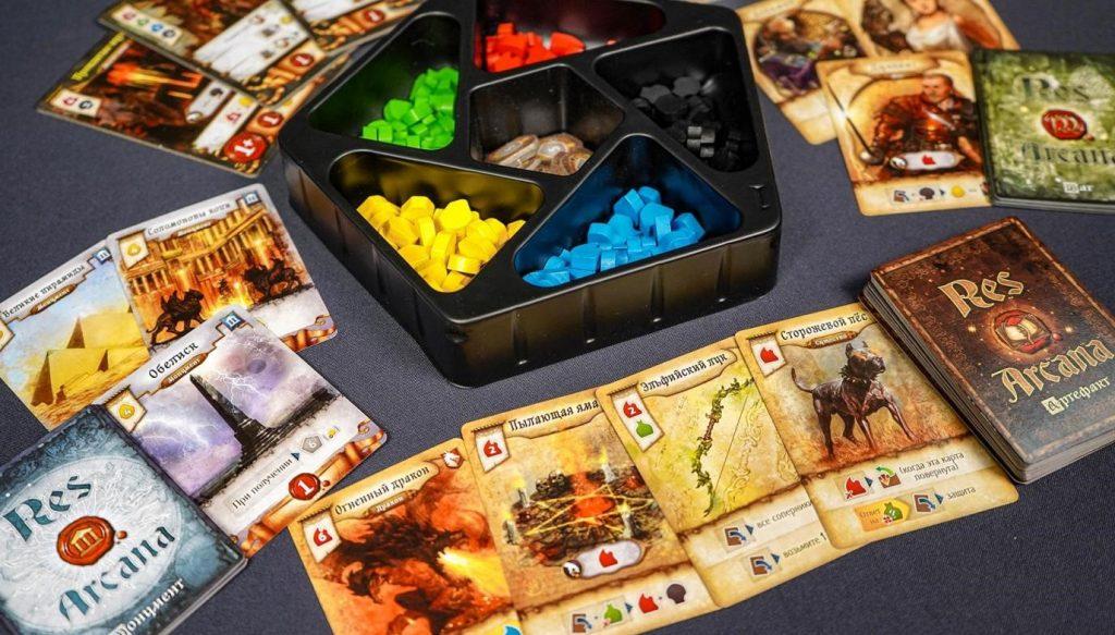 Res Arcana: быстрая настольная игра о битве волшебников 2