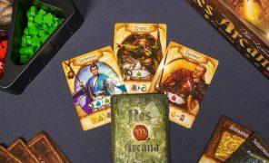 Res Arcana: быстрая настольная игра обитве волшебников