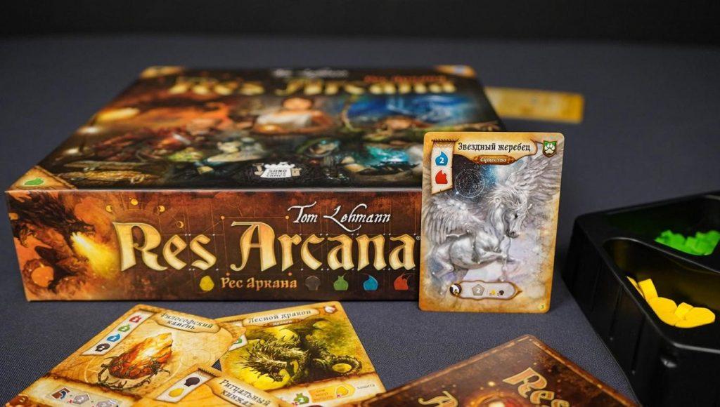 Res Arcana: быстрая настольная игра о битве волшебников 5