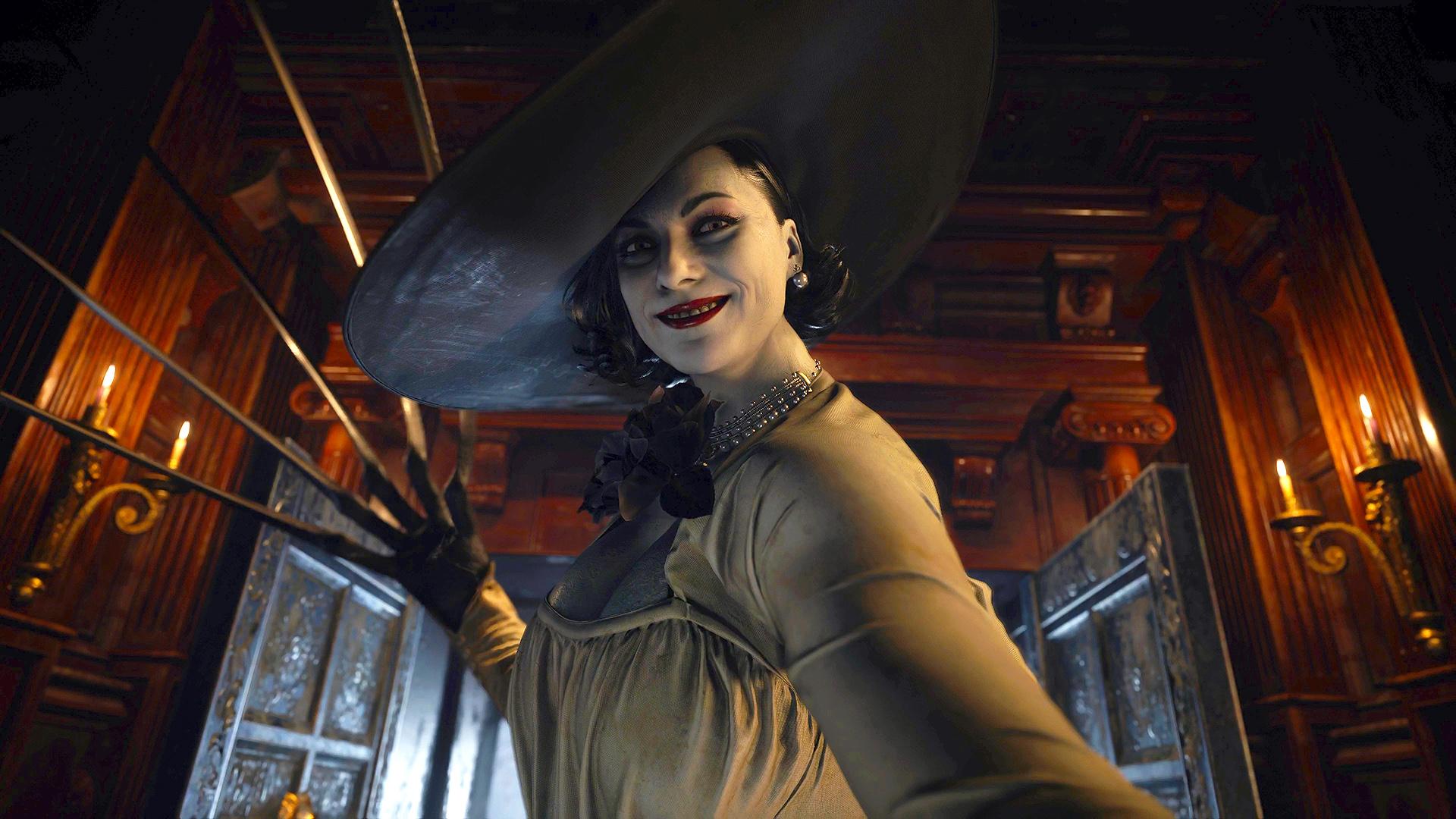 Сексуальная и милая Леди Димитреску — лучшие фан-арты с вампиршей из Resident Evil: Village