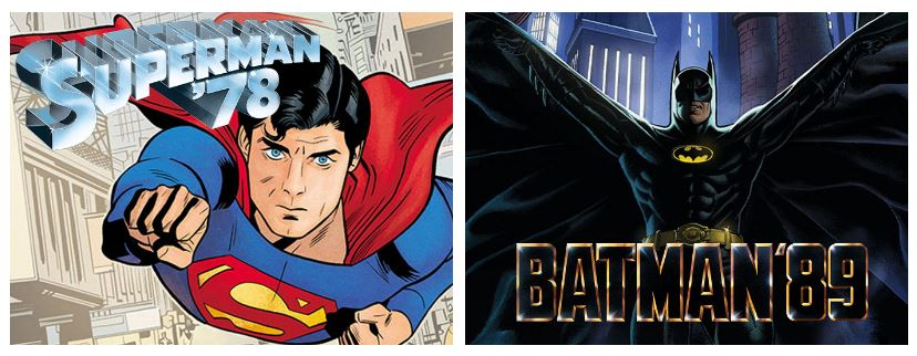 DC представила комиксы по«Супермену» и «Бэтмену» — продолжение фильмов Доннера и Бёртона