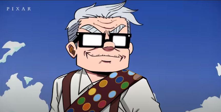 Короткометражка: если бы мультфильм «Вверх» отPixar был аниме
