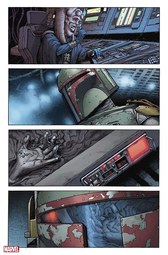 По«Звёздным войнам» выйдет комикс-кроссовер проБобу Фетта 3