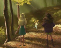 Читаем книгу Марины Беляевой «Феи Гант-Дорвенского леса»