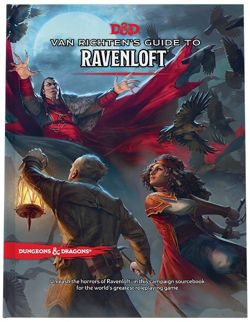 Вмае дляDungeons & Dragons выйдет книга помиру готических ужасов Рейвенлофт 1