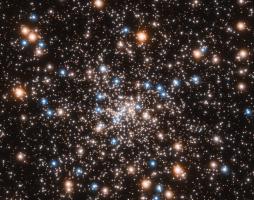 «Хаббл» зарегистрировал «рой» черных дыр в недалеком звездном скоплении