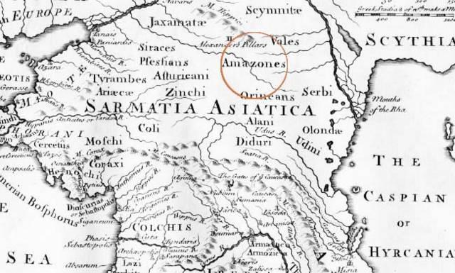Амазонки: миф и реальная история 8