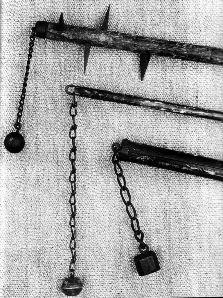 Моргенштерн, боевой цеп. История страшного оружия