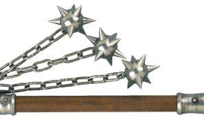 Моргенштерн, боевой цеп. Как сражались этим страшным оружием