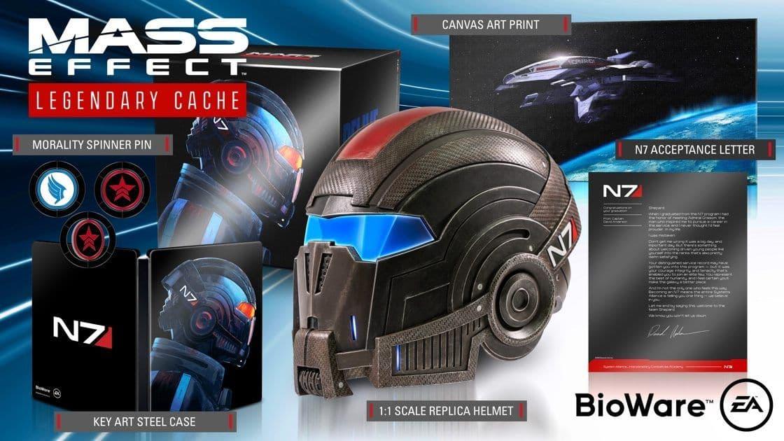 Новые детали, трейлер, скриншоты и дата релиза Mass Effect: Legendary Edition