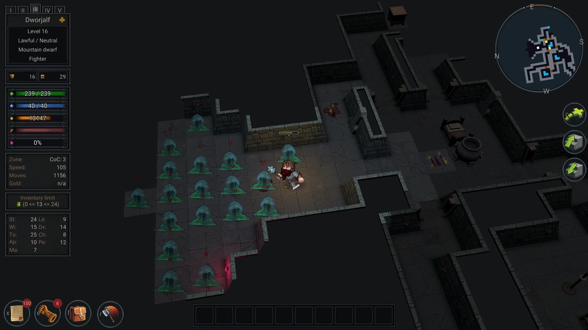 В раннем доступе вышел Ultimate ADOM — Caverns ofChaos. Это продолжение знаменитого «рогалика» 2