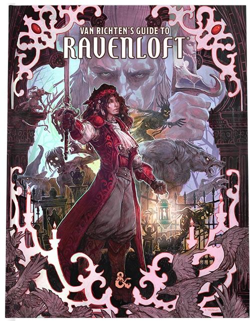 Вмае дляDungeons & Dragons выйдет книга помиру готических ужасов Рейвенлофт 2