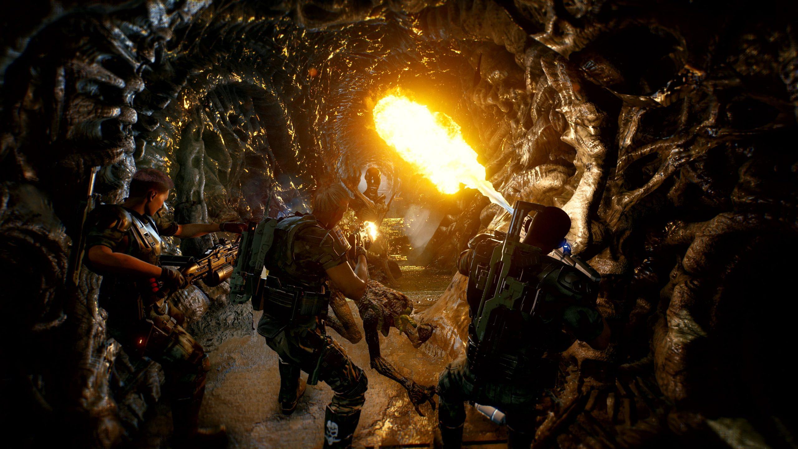 Cold Iron анонсировала кооперативный шутер Aliens: Fireteam 2