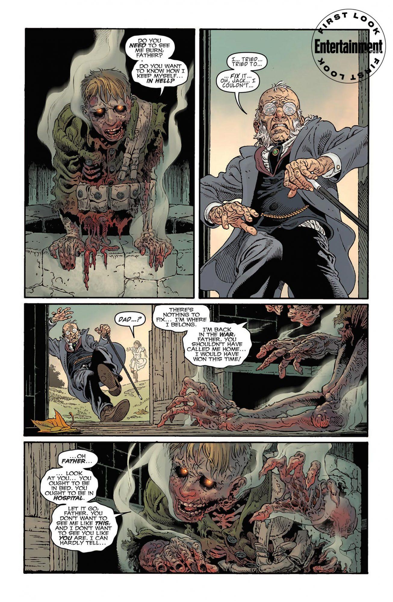 Первые кадры комикса комикс-кроссовера «Песочного человека» и «Ключей Локков» 3