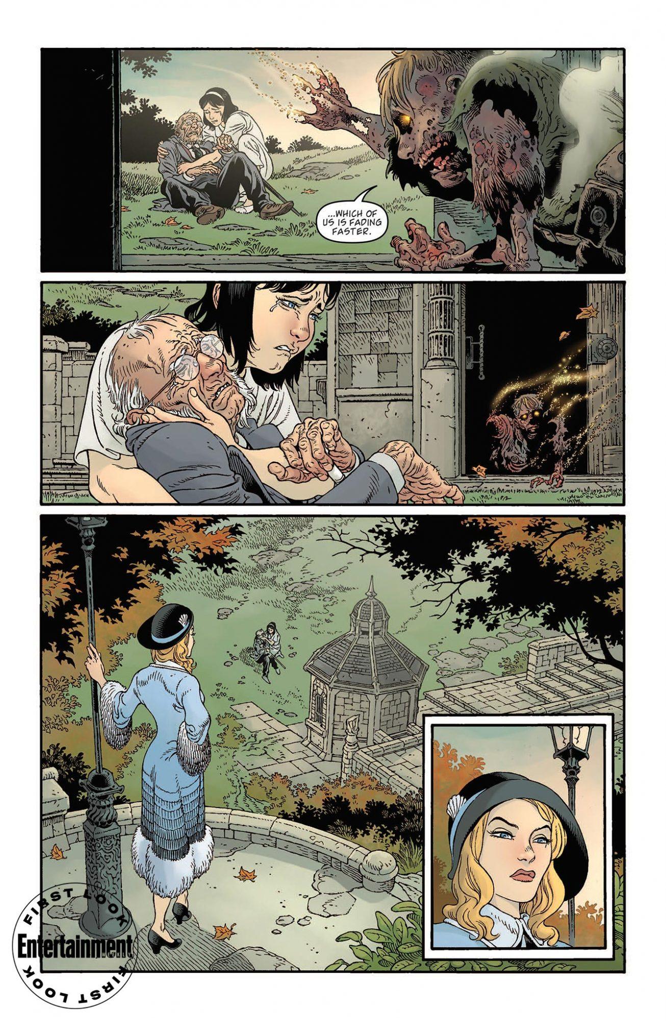 Первые кадры комикса комикс-кроссовера «Песочного человека» и «Ключей Локков» 4