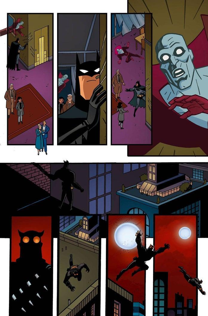 DC введёт Суд Сов в комикс-продолжение классического мультсериала проБэтмена