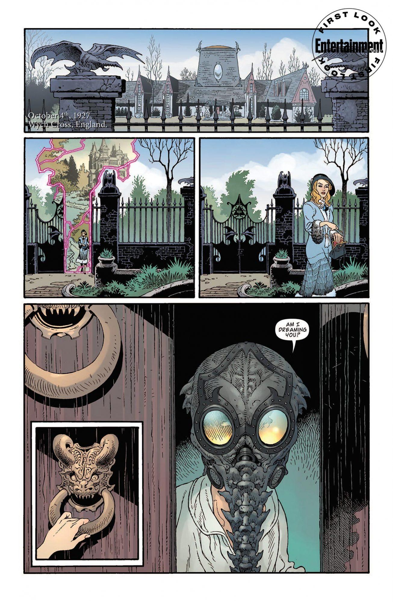 Первые кадры комикса комикс-кроссовера «Песочного человека» и «Ключей Локков» 5
