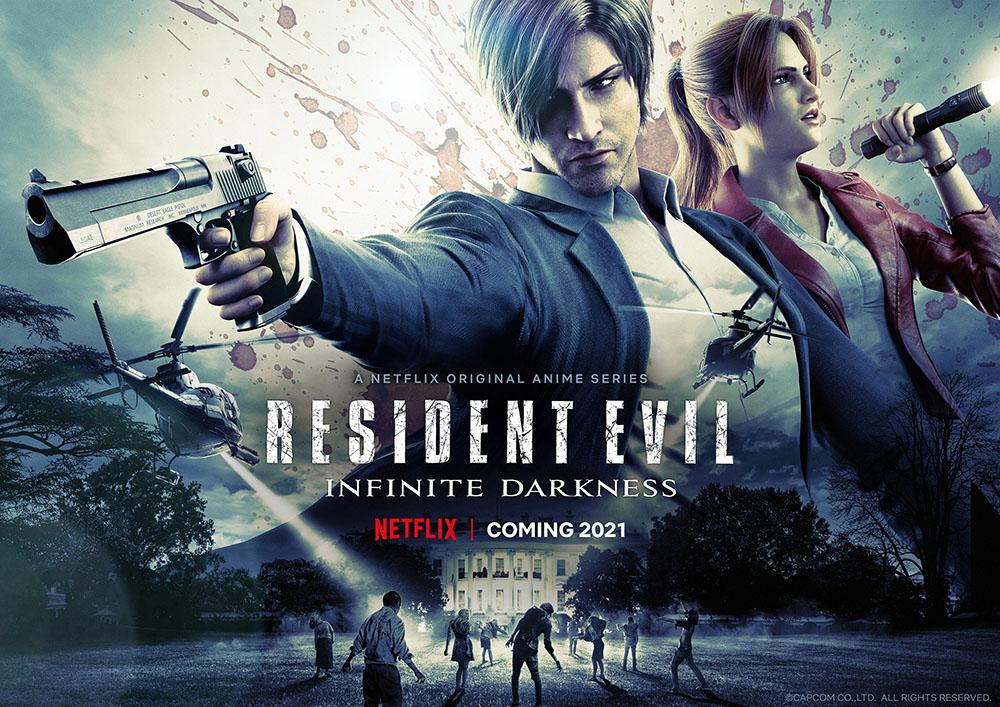 Первые детали и новые кадры CG-сериала Resident Evil: Infinite Darkness 1