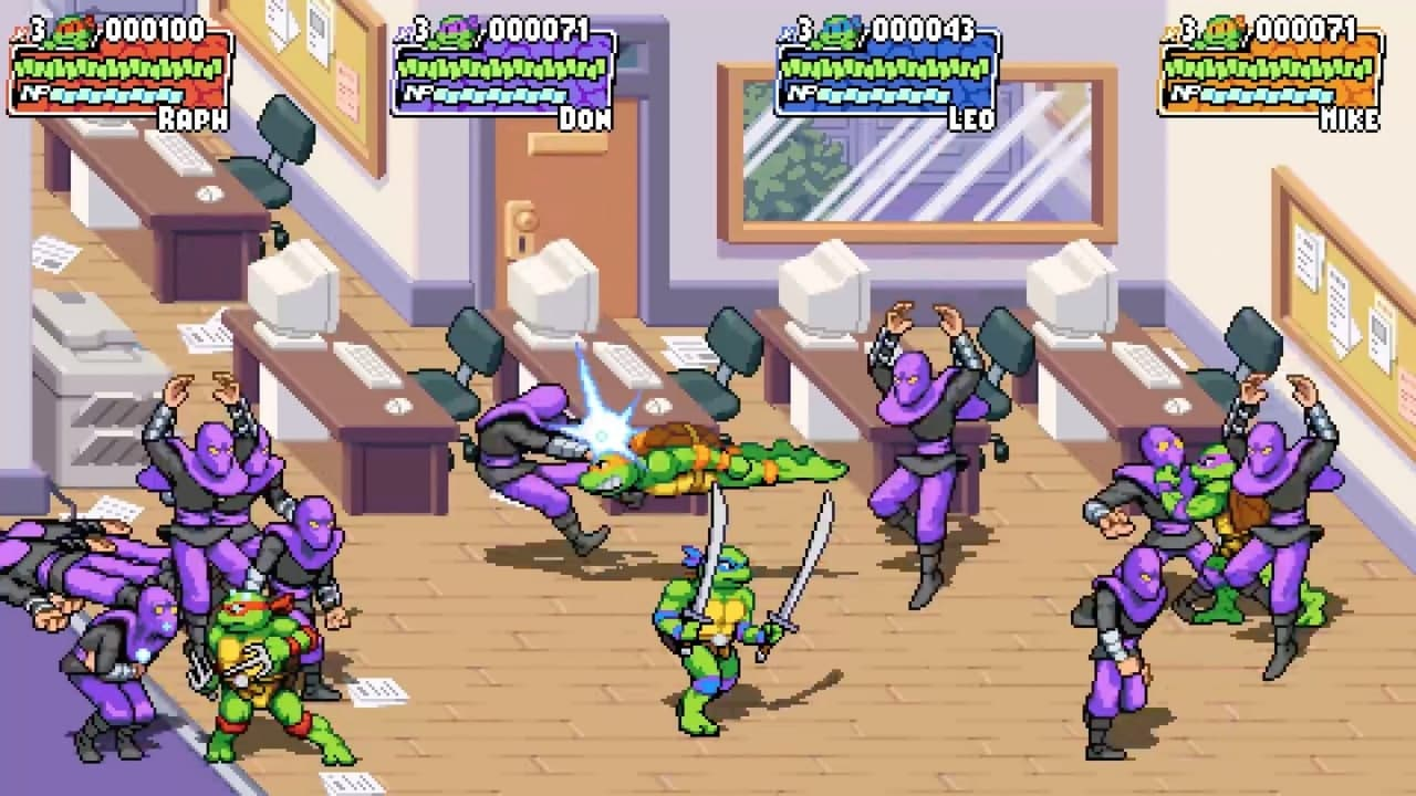 Трейлер и скриншоты Teenage Mutant Ninja Turtles: Shredder's Revenge 5