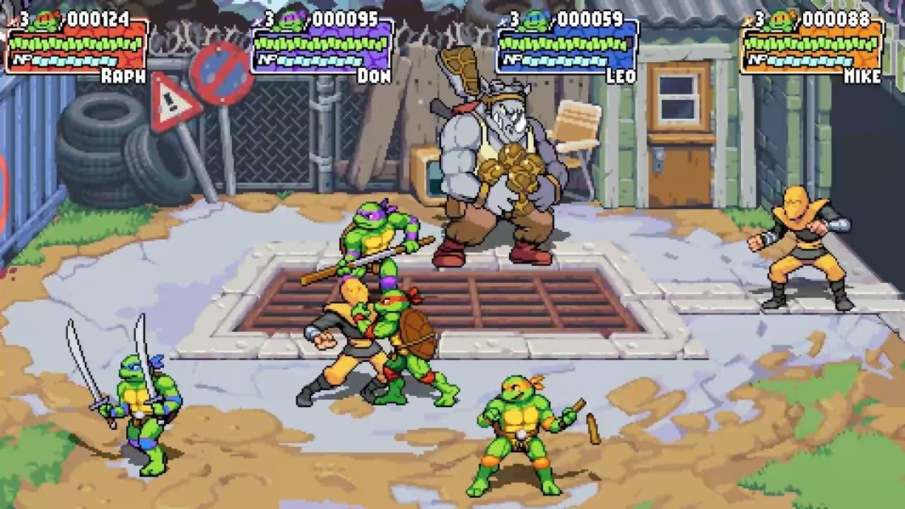 Трейлер и скриншоты Teenage Mutant Ninja Turtles: Shredder's Revenge 2