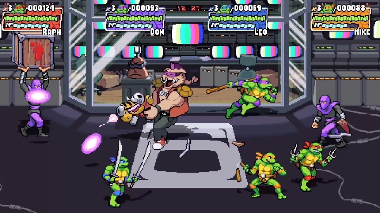 Трейлер и скриншоты Teenage Mutant Ninja Turtles: Shredder's Revenge 1