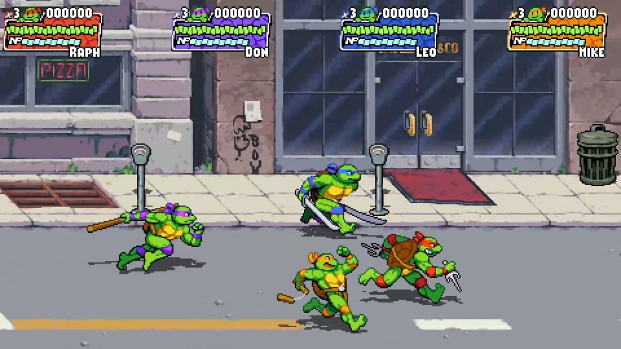 Трейлер и скриншоты Teenage Mutant Ninja Turtles: Shredder's Revenge