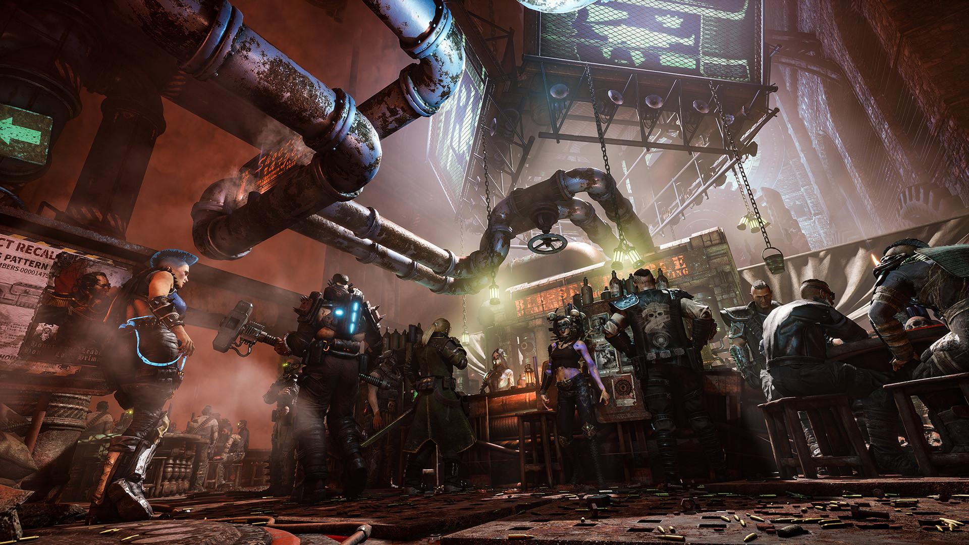 Встречайте Necromunda: Hired Gun —сюжетный шутер вовселенной Warhammer 40,000