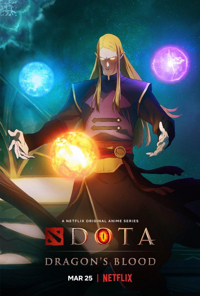 «Это всего лишь предания»: второй трейлер мультсериала «DOTA: Кровь дракона» 3
