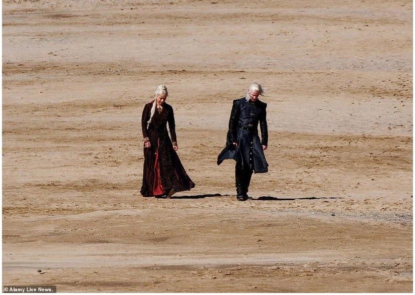 Фото: первые кадры сосъёмок «Дома Дракона», приквела «Игры престолов» 1