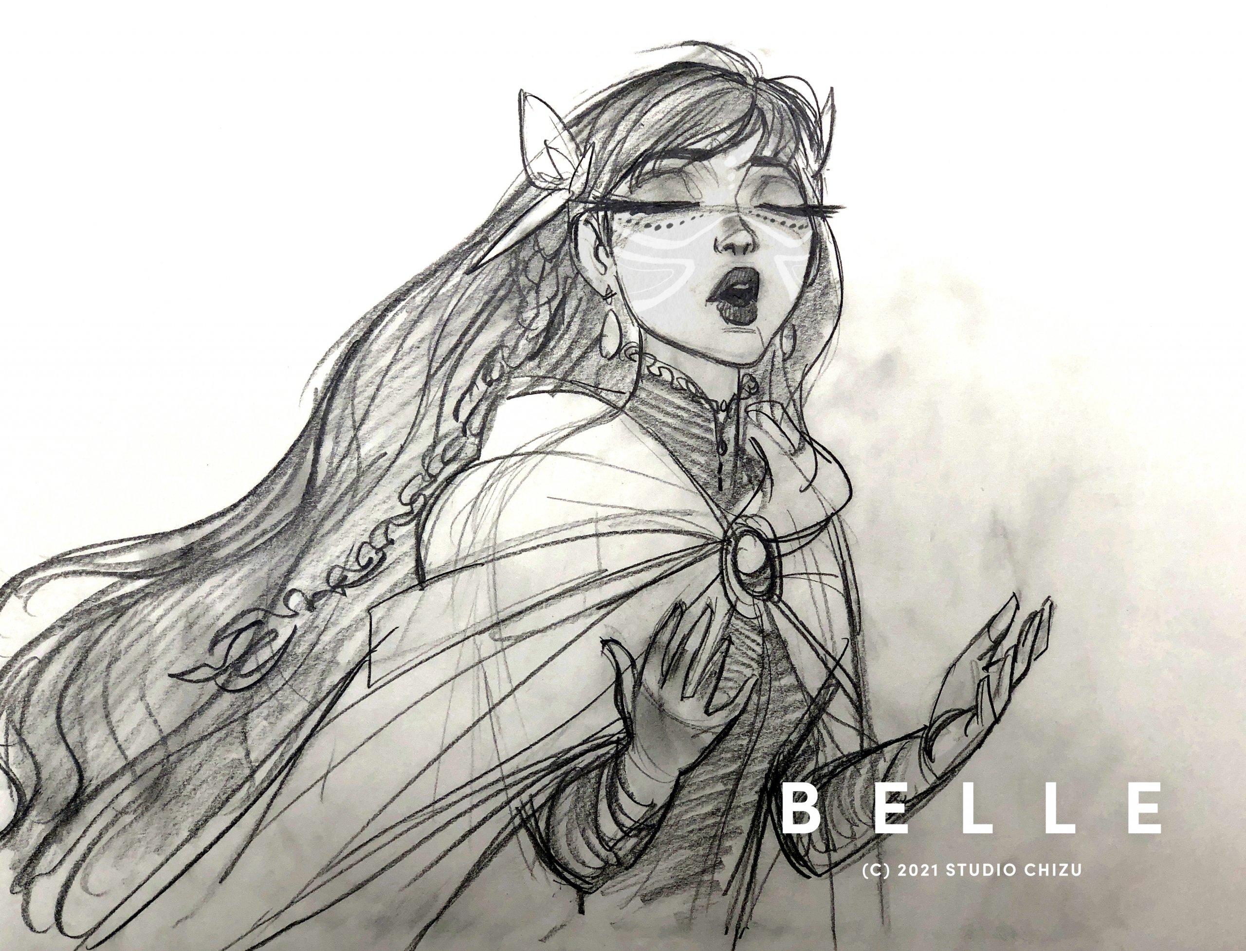 Первый трейлер Belle — нового аниме-фильма Мамору Хосоды 1