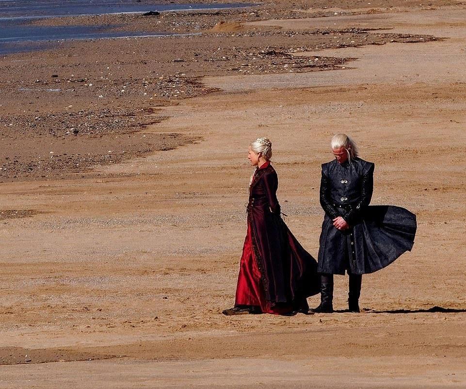 Фото: первые кадры сосъёмок «Дома Дракона», приквела «Игры престолов» 2