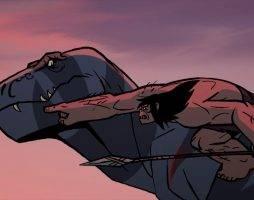Исследование: тираннозавры перемещались соскорость около 5 километров вчас