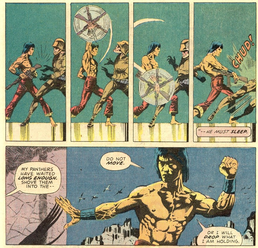 Шан-Чи в комиксах Marvel: боевые искусства и настоящий Мандарин 1