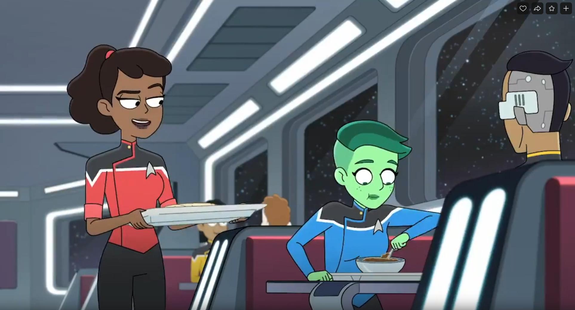 Первый тизер второго сезона мультсериала «Звездный путь: Нижние палубы»