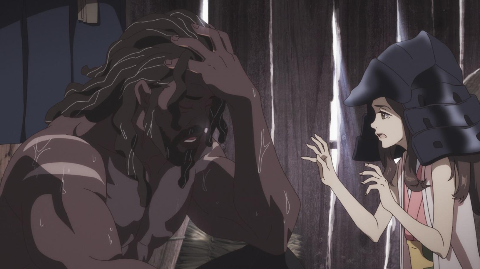 Первый тизер-трейлер «Ясукэ» — аниме о темнокожем самурае